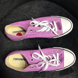 NWOT Purple Converse Sneakers Shoes Women's 10